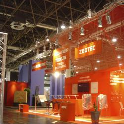 Aluminum exhibition booth truss for Prolighting show