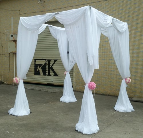 Pipe and drape trade show booth design for sale